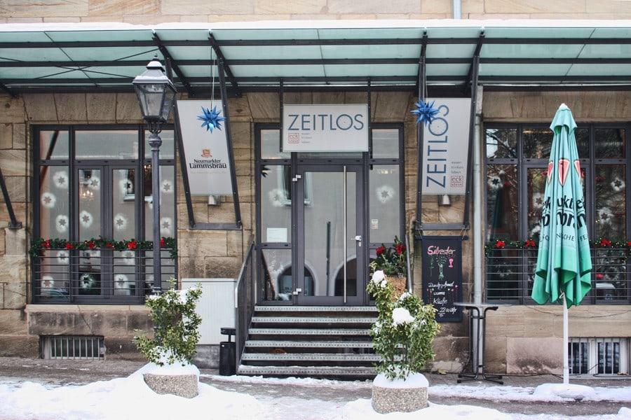 Café Zeitlos von Außen