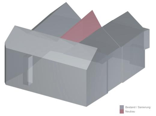 Baukörper und Volumen