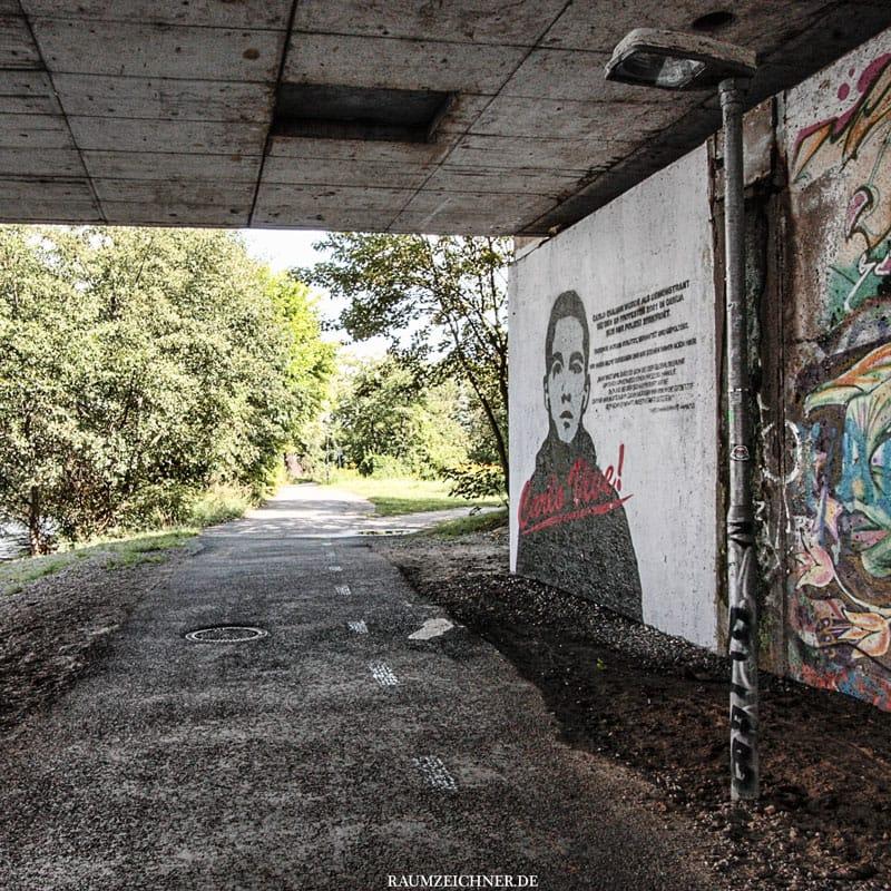 3 Bilder aus Potsdam Unterführung