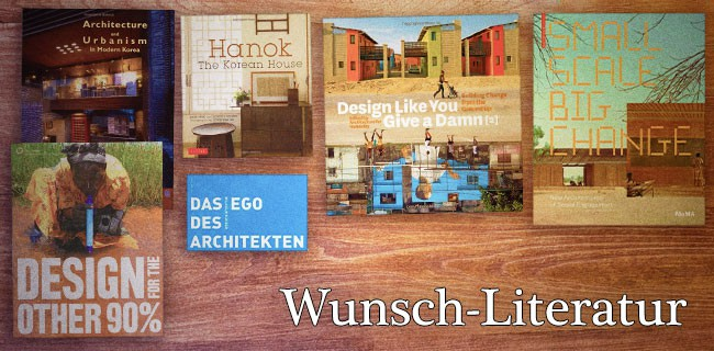 WunschLiteratur eines Architekten