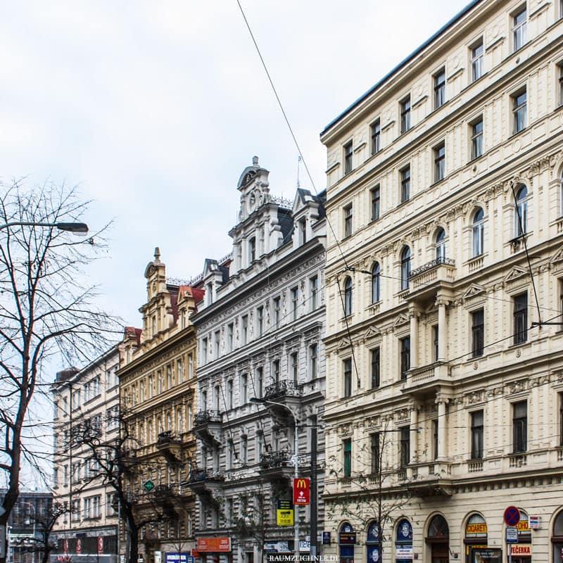 Prager Innenstadt mit Renaissancefassaden