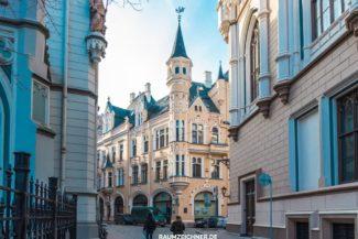 Riga in Lettland Architektur und Denkmalpflege 2015