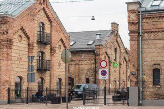 Markthallen aus Ziegelstein, Lettland, Riga
