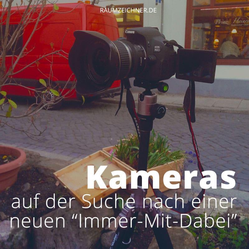 Auf der Suche nach der perfekten Kamera für reisende Architekten